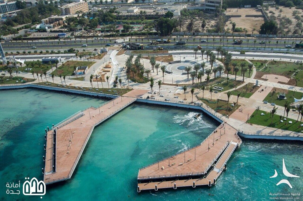 Development of Corniche and Waterfront at Phase 4 & 5, Jeddah - AMF